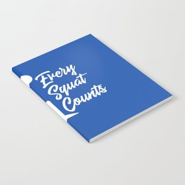 Every Squat Counts Notebook