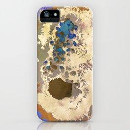 Gold Quartz Stalactite Crystal Art iPhone Case
