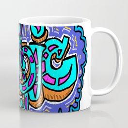 Graffiti Music Coffee Mug