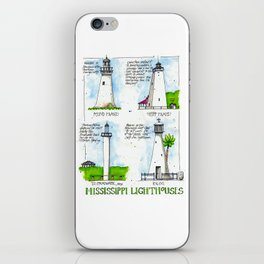 Mississippi Lighthouses iPhone Skin