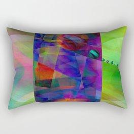 Abstract cylinder Rectangular Pillow