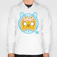 finn and jake Hoodies featuring Finn & Jake by Miguel Manrique
