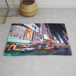 New York Neon Jungle Rug
