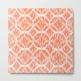 Brush Circle Overlap Metal Print