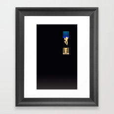 Out of Sin (Natural) Framed Art Print