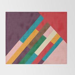 meridian purple Throw Blanket