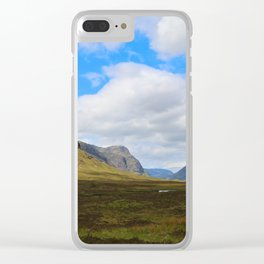 Highland Green Clear iPhone Case
