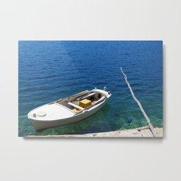 Croatian Rowboat Metal Print