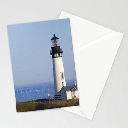 Lighthouse Newport Oregon Stationery Cards