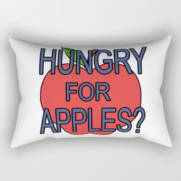hungry fot aples? Rectangular Pillow