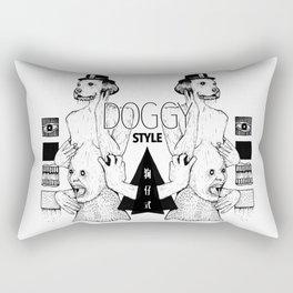 Doggy Style Rectangular Pillow
