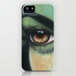 Viridescent Incarnation iPhone Case