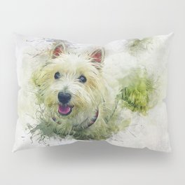 West Highland White Terrier Pillow Sham