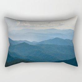 Smoky Mountain National Park Nature Photography Rectangular Pillow