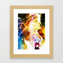 """Olympic Moments (Kerri)"" Framed Art Print"