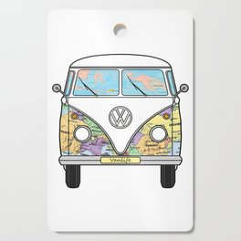 the travelling combi - vanlife Cutting Board