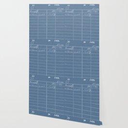 Library Card 797 Negative Blue Wallpaper