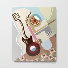Bauhaus Harmony Metal Print