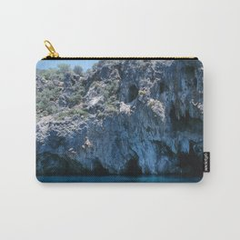 NATURE'S WONDER #4 - BLUE GROTTO #art #society6 Carry-All Pouch