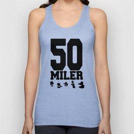 50 Miler Afoot Unisex Tank Top