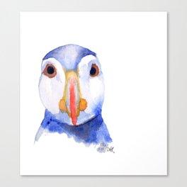 puffin Canvas Print