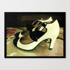 Shoes - Chanel I Canvas Print