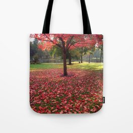 Red Maple Tree Tote Bag