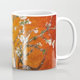 Vincent van Gogh Blossoming Almond Tree (Almond Blossoms) Orange Sky Coffee Mug