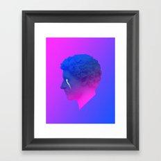 Satur Framed Art Print
