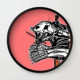 Circus Animals by zombieCraig Wall Clock