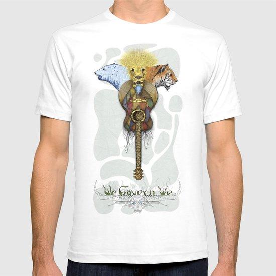 WE GOVERN WE // lionsandtigersandbears T-shirt