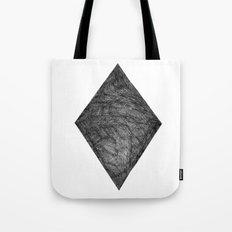 Graphite Diamond Tote Bag