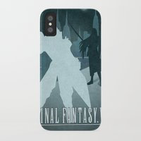 final fantasy iPhone & iPod Cases featuring Vector Final Fantasy VII by LoweakGraph