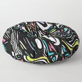 Mint Picasso Floor Pillow