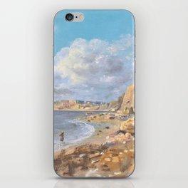12,000pixel-500dpi - John Linnell - Coast Scene at Cullercoats near Whitley Bay - Digital Remastered iPhone Skin