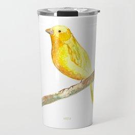 Aquarela Canarinho Travel Mug