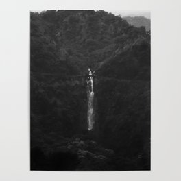 1950s waterfall Poster