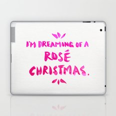 Rosé Christmas Laptop & iPad Skin