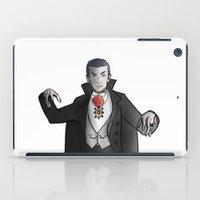 dracula iPad Cases featuring Dracula by David Casciani