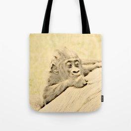Vintage Animals - Gorilla Baby Tote Bag