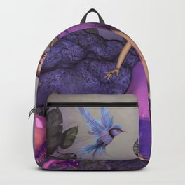 Wonderful fantasy women Backpack