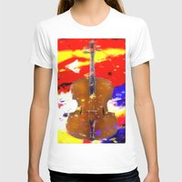 cello T-shirts featuring Mellow Cello by Brian Raggatt