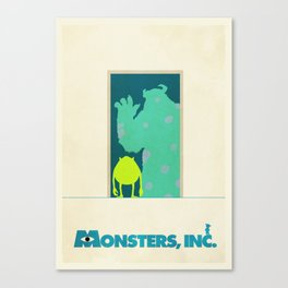 Monsters Inc. Canvas Print