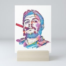 Ernesto Che Guevara Smoking Cigar Mini Art Print