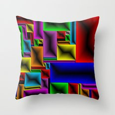 ColorBlox - Hammered Throw Pillow