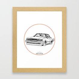 Crazy Car Art 0199 Framed Art Print