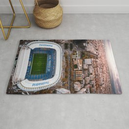 Santiago Bernabéu Stadium - Madrid, Spain Rug