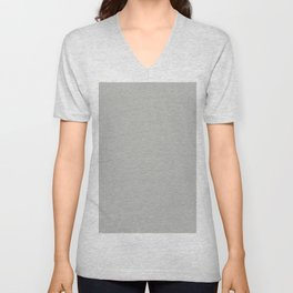 BM Metropolitan Pastel Gray Color of the Year 2019 - Solid Color Unisex V-Neck