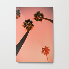 Sunset California 1 Metal Print