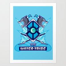 Avatar Nations Series - Water Tribe Art Print